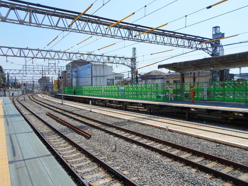 西武新宿線沼袋駅その後2017春-8135