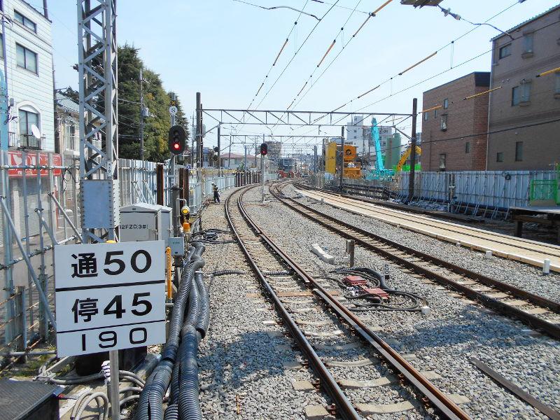 西武新宿線沼袋駅その後2017春-8136