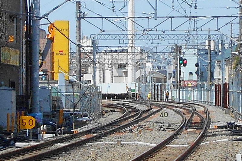 西武新宿線沼袋駅その後2017春-8138