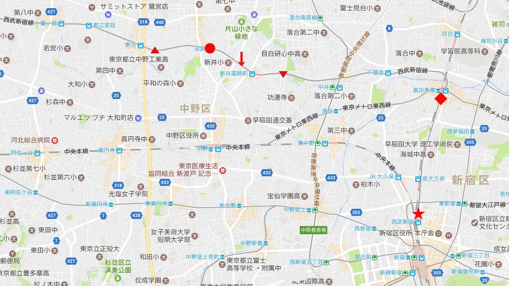 西武新宿線沼袋駅2017春-8001