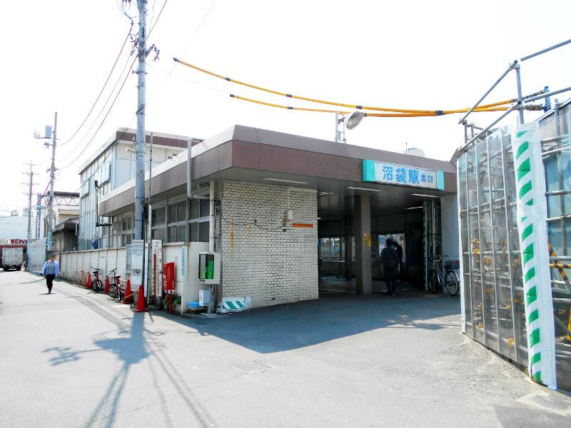 西武新宿線沼袋駅2017春-8002