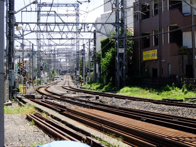 西武新宿線沼袋駅2017春-8007