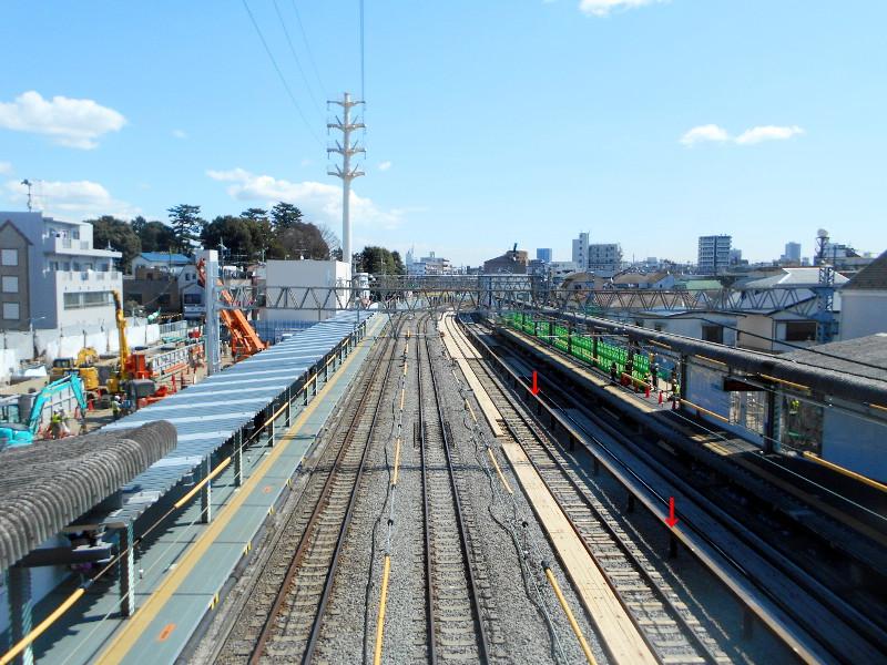 西武新宿線沼袋駅2017春-8013