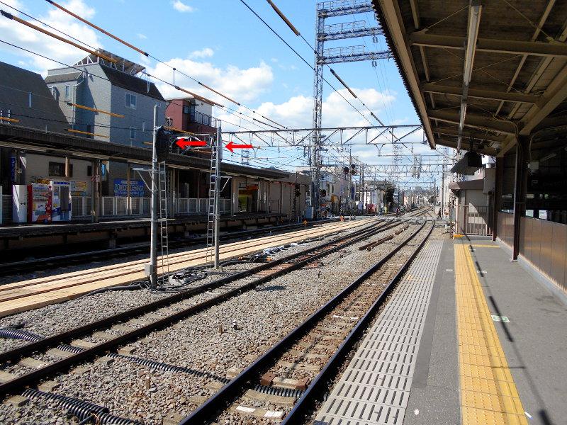 西武新宿線沼袋駅2017春-8015