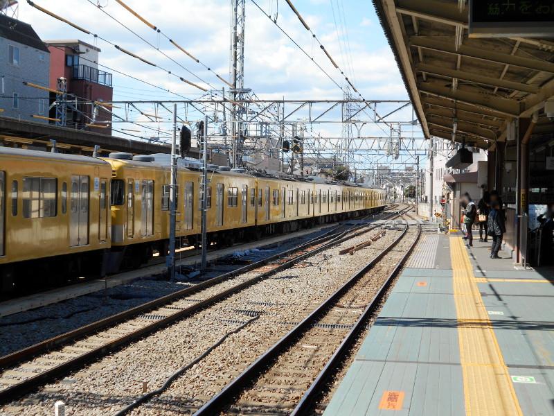 西武新宿線沼袋駅2017春-8020