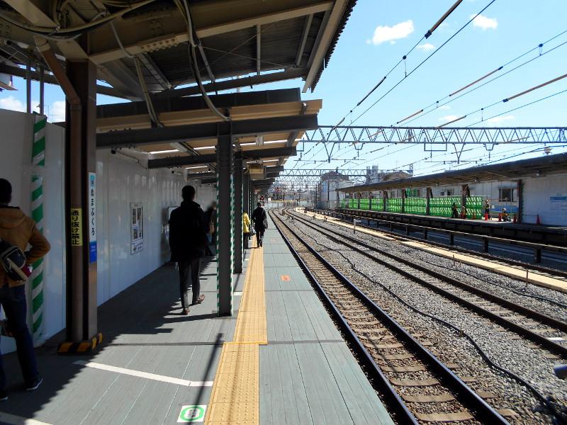 西武新宿線沼袋駅2017春-8021