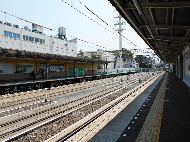 西武新宿線沼袋駅2017春-8022