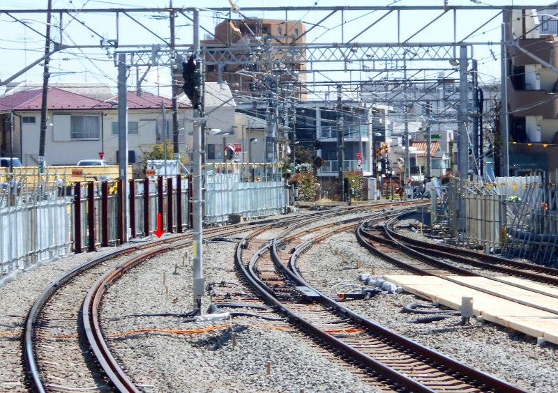 西武新宿線沼袋駅2017春-8026
