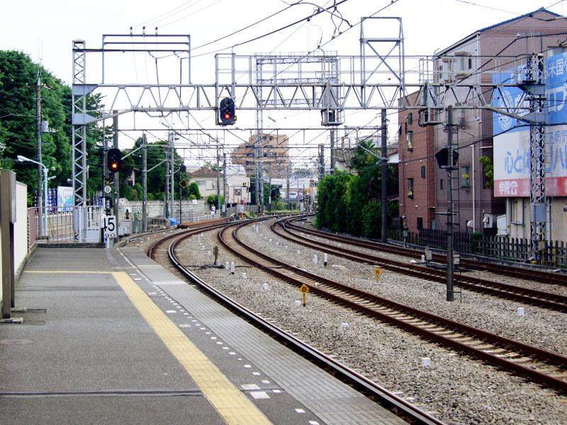 西武新宿線沼袋駅2017春-8027