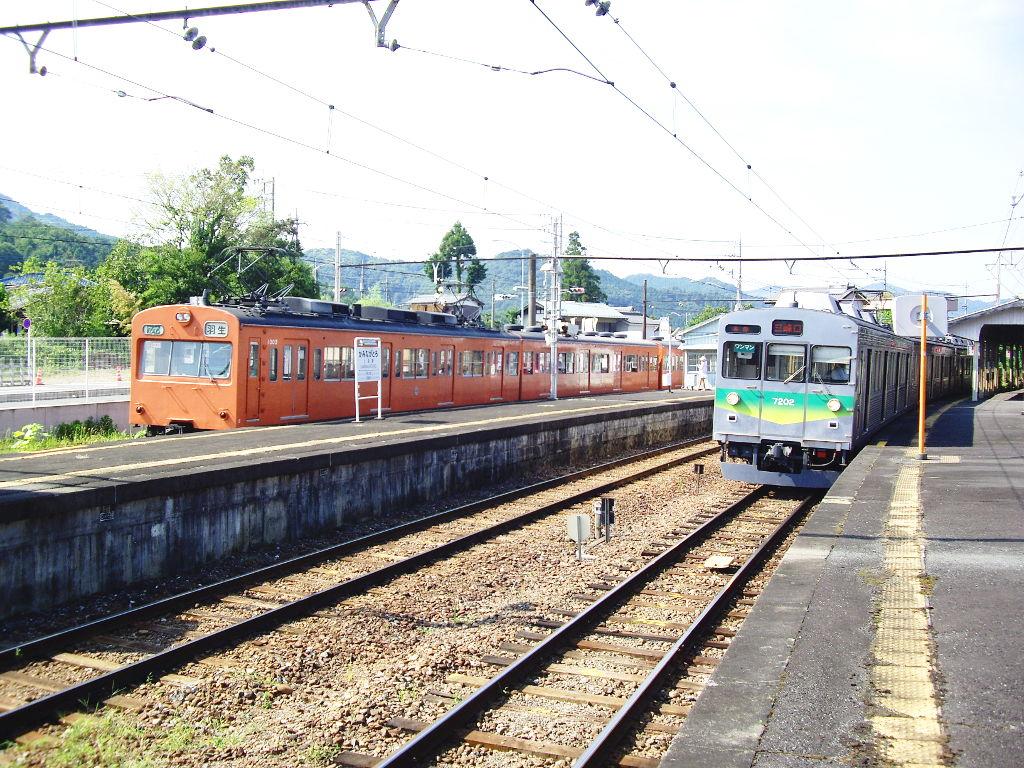 秩父鉄道の幼馴染み・1000系オレンジ色2012夏-9502