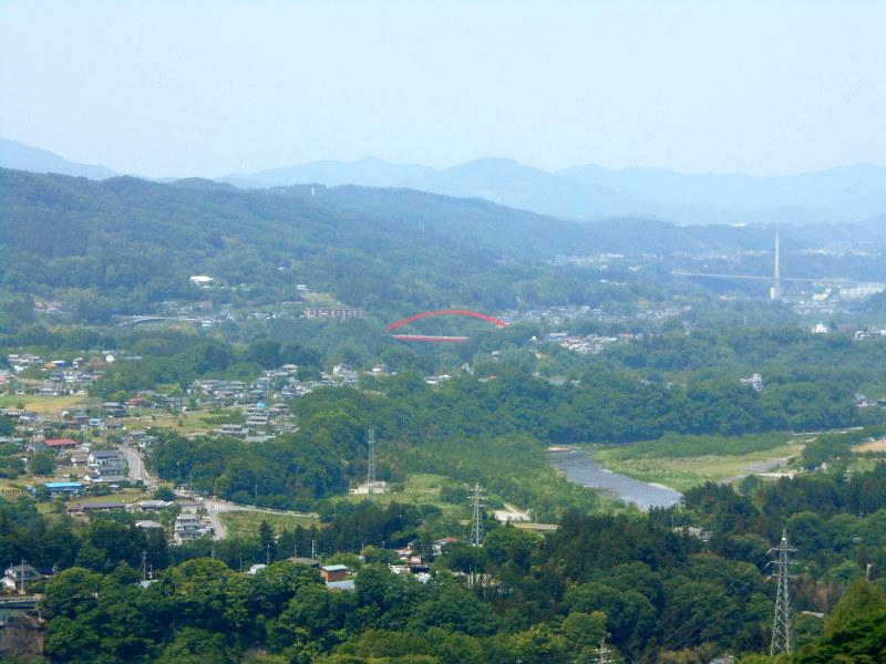 秩父・浦山ダム2016その3・ダムのてっぺんを探検-9706