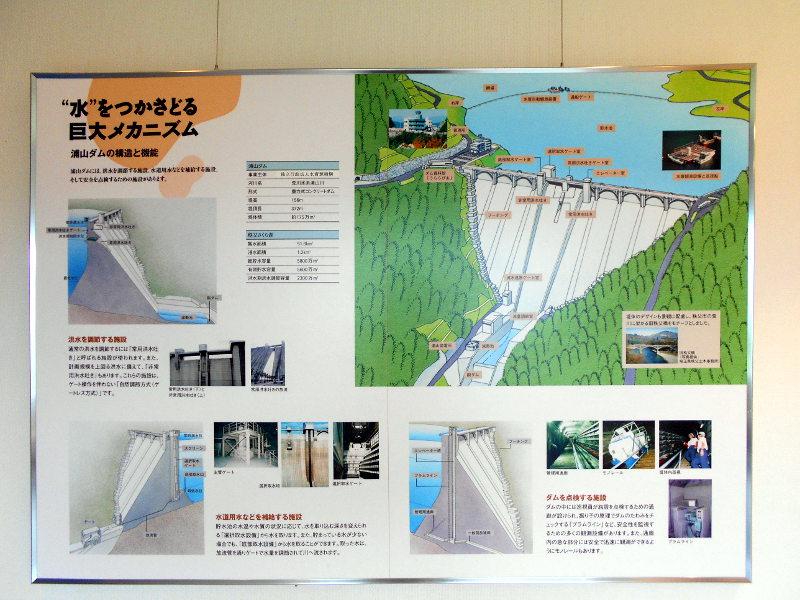 秩父・浦山ダム2016その3・ダムのてっぺんを探検-9724