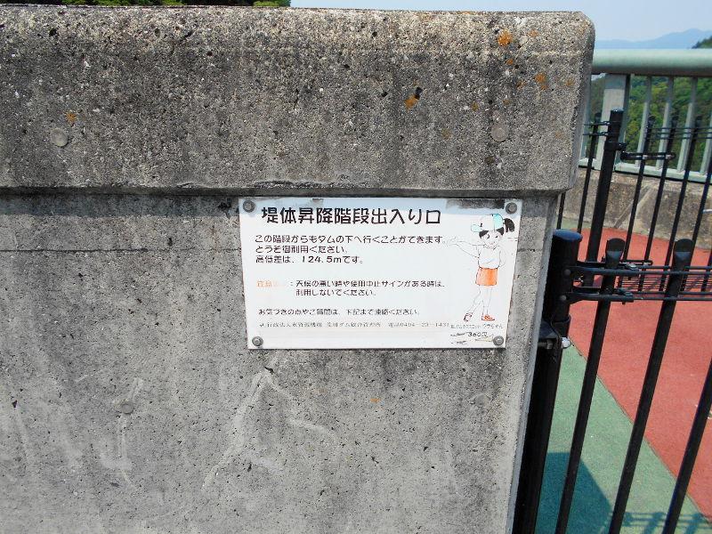 秩父・浦山ダム2016その3・ダムのてっぺんを探検-9735