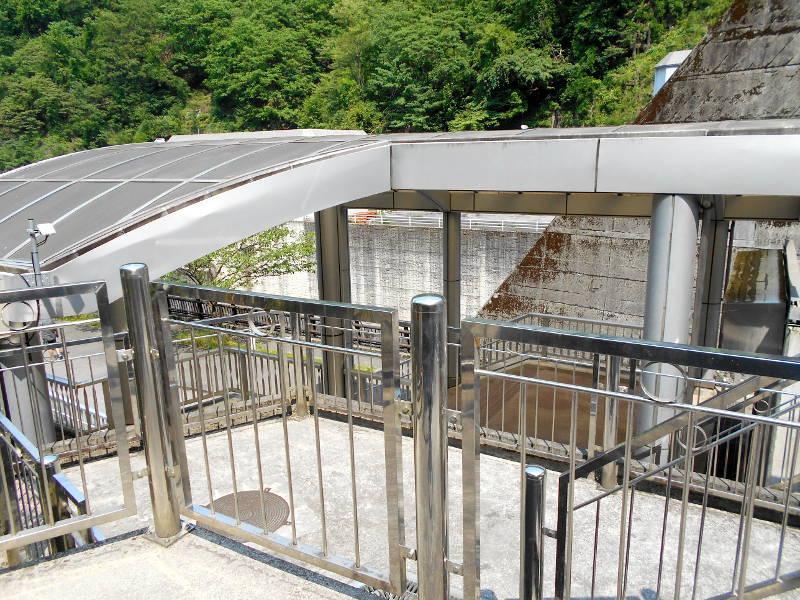 秩父・浦山ダム2016その4・ダムの階段との戦い-9817