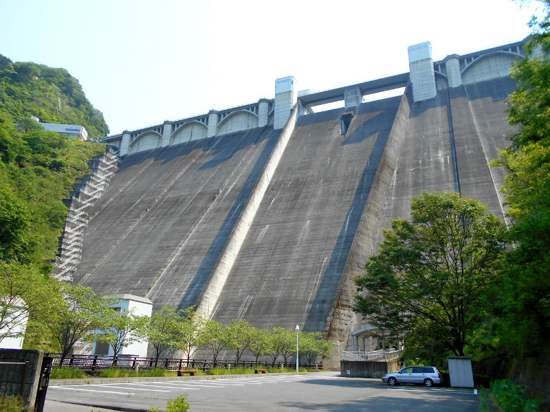秩父・浦山ダム2016その4・ダムの階段との戦い-9820