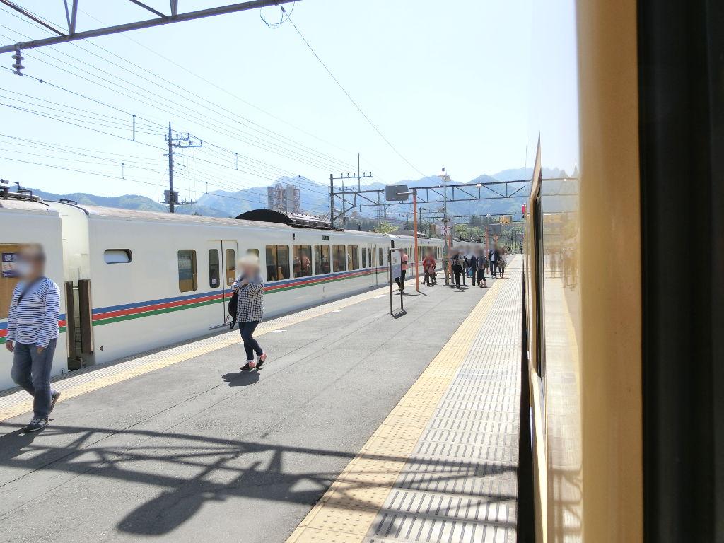 秩父鉄道の貨車「ヲキ」を楽しむ・その1西武秩父駅2018春-9102