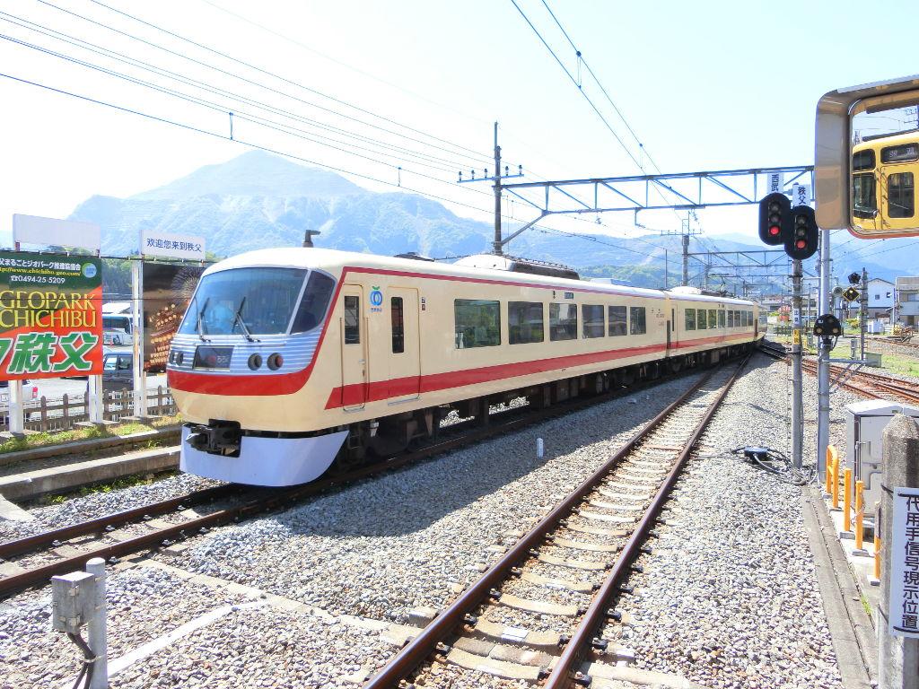 秩父鉄道の貨車「ヲキ」を楽しむ・その1西武秩父駅2018春-9111