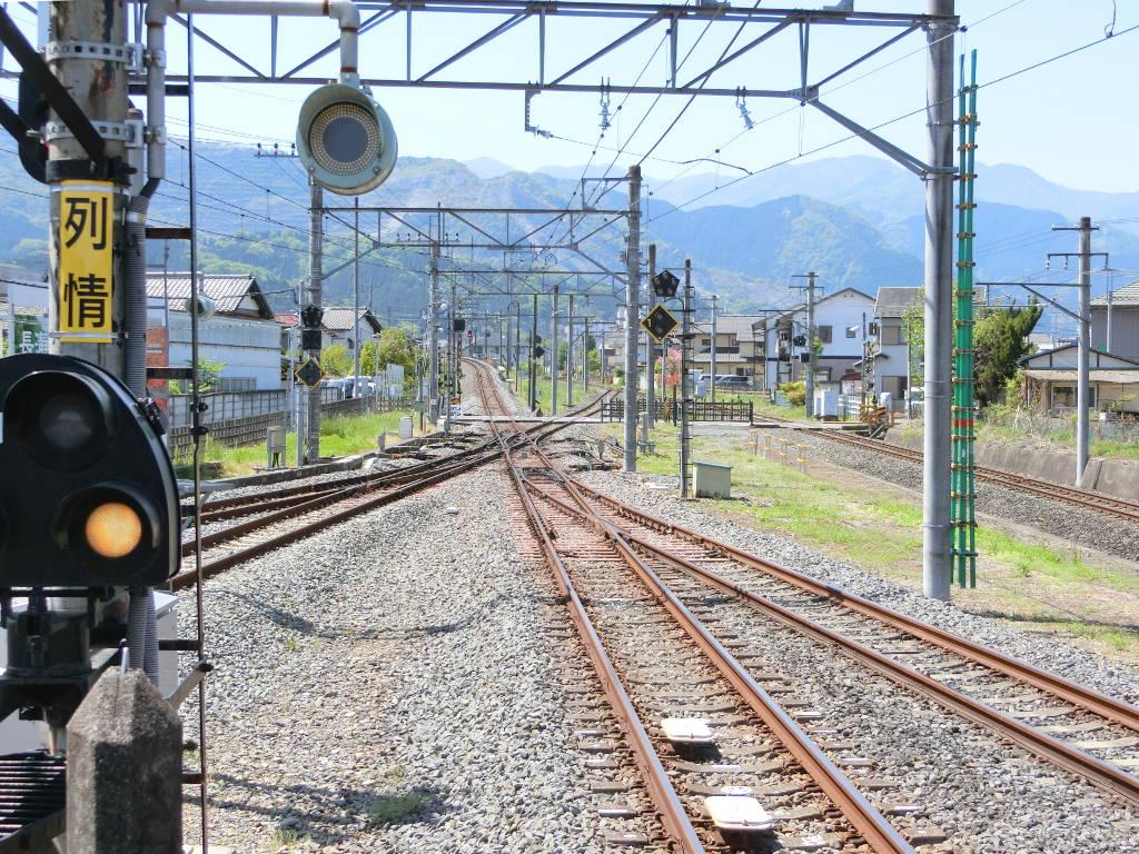秩父鉄道の貨車「ヲキ」を楽しむ・その1西武秩父駅2018春-9113