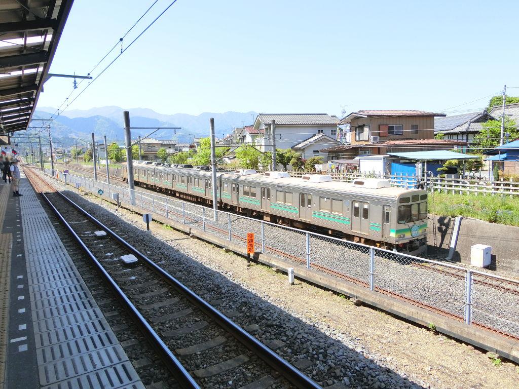 秩父鉄道の貨車「ヲキ」を楽しむ・その1西武秩父駅2018春-9115
