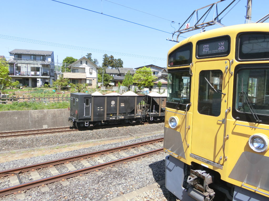 秩父鉄道の貨車「ヲキ」を楽しむ・その1西武秩父駅2018春-9121