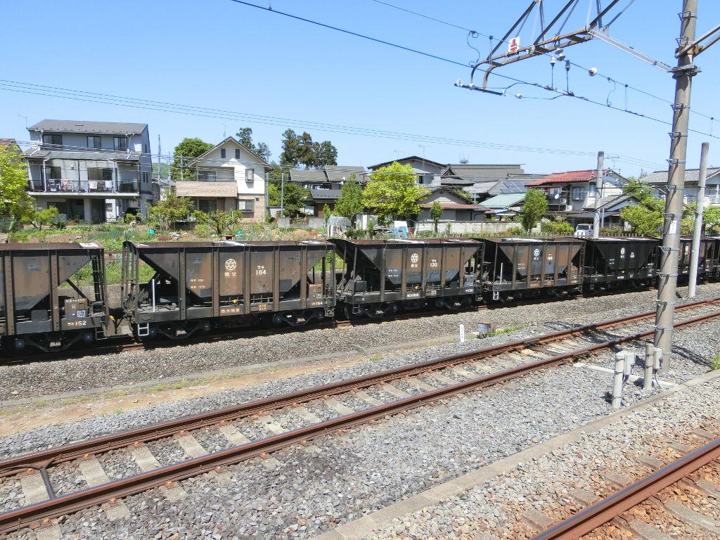 秩父鉄道の貨車「ヲキ」を楽しむ・その1西武秩父駅2018春-9123