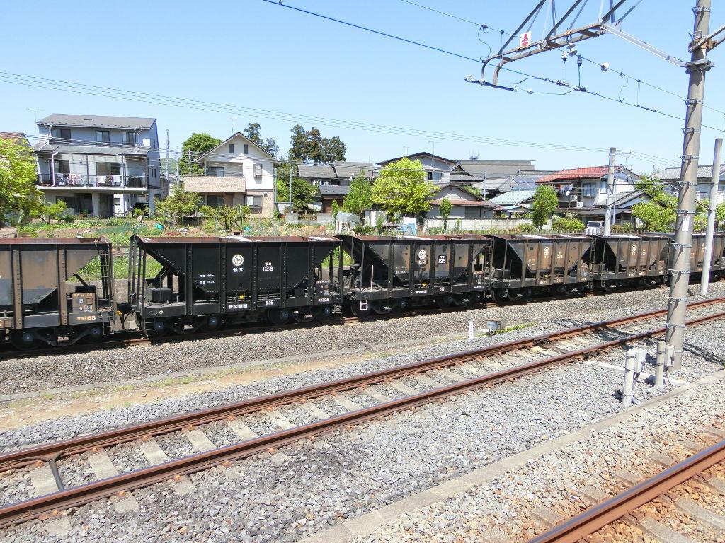 秩父鉄道の貨車「ヲキ」を楽しむ・その1西武秩父駅2018春-9124