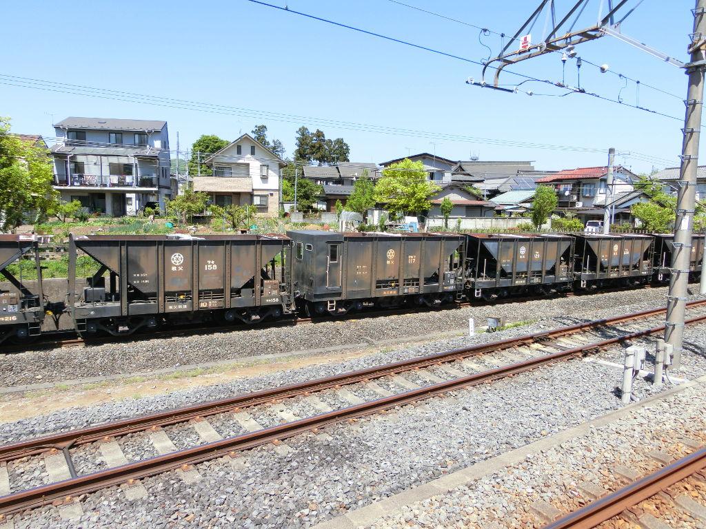 秩父鉄道の貨車「ヲキ」を楽しむ・その1西武秩父駅2018春-9125