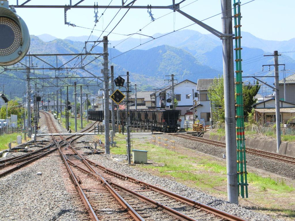 秩父鉄道の貨車「ヲキ」を楽しむ・その1西武秩父駅2018春-9128