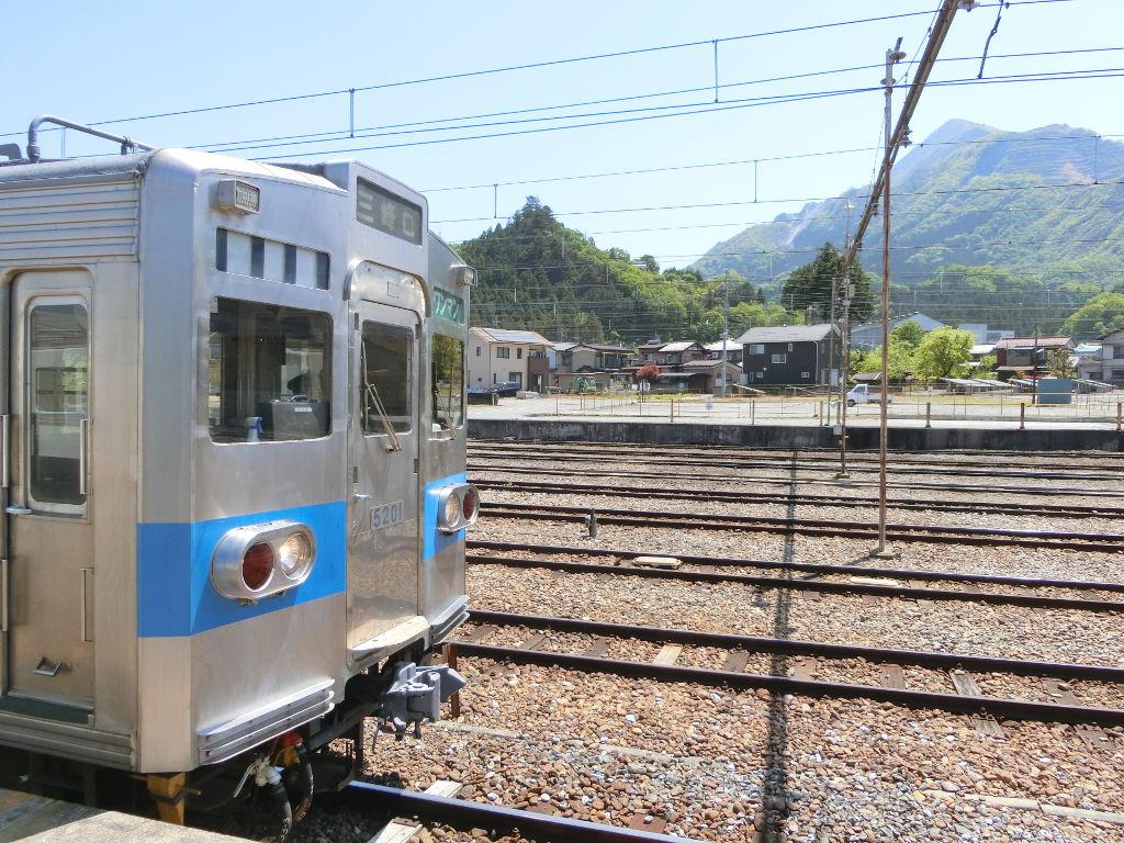 秩父鉄道の貨車「ヲキ」を楽しむ・その2影森駅から三輪駅へ2018春-9204
