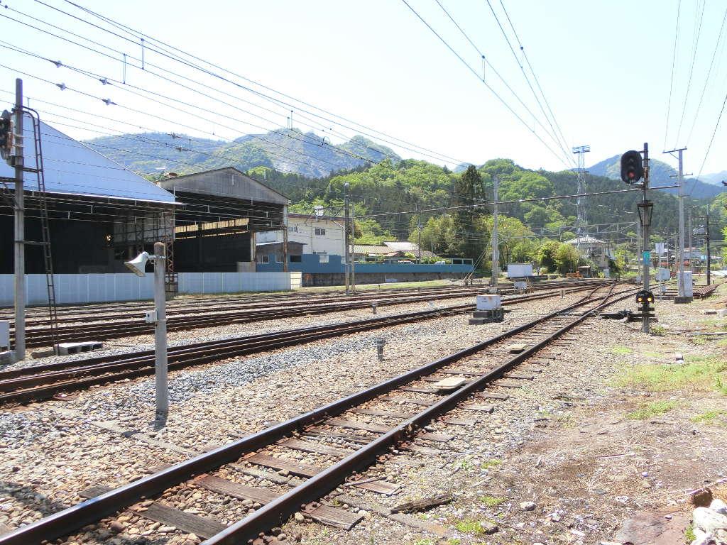 秩父鉄道の貨車「ヲキ」を楽しむ・その2影森駅から三輪駅へ2018春-9211