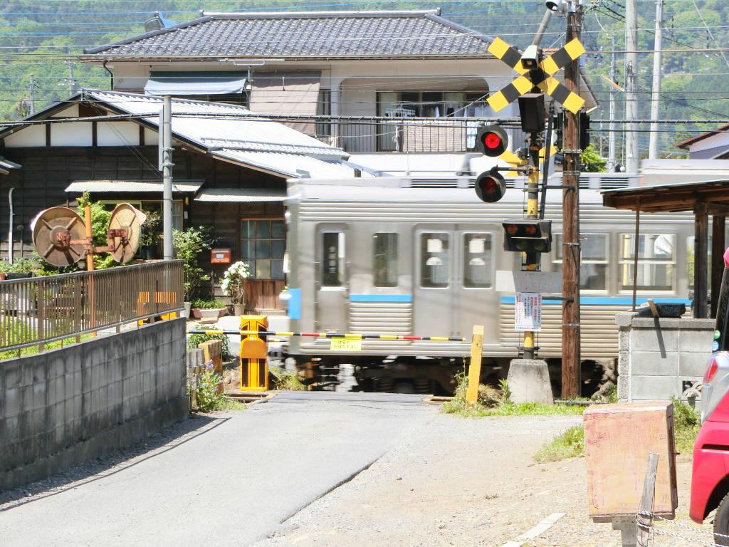 秩父鉄道の貨車「ヲキ」を楽しむ・その2影森駅から三輪駅へ2018春-9213