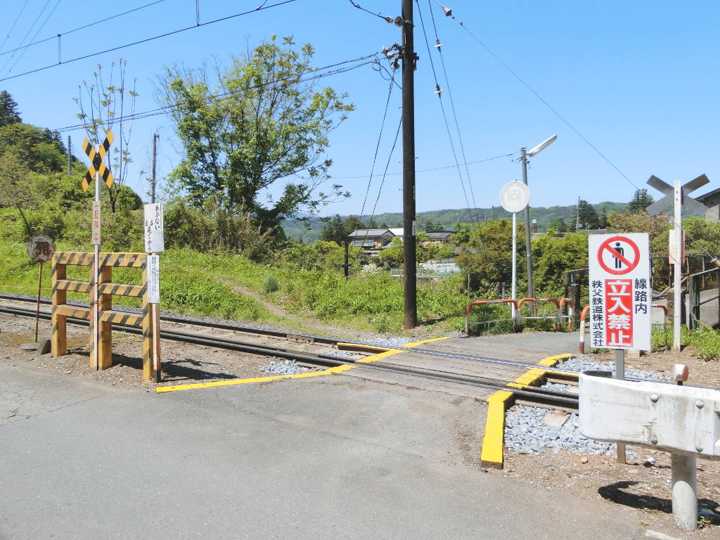 秩父鉄道の貨車「ヲキ」を楽しむ・その2影森駅から三輪駅へ2018春-9218