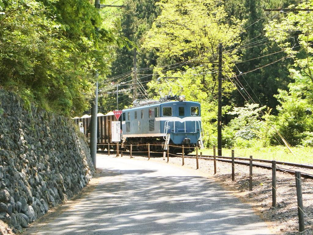 秩父鉄道の貨車「ヲキ」を楽しむ・その2影森駅から三輪駅へ2018春-9230
