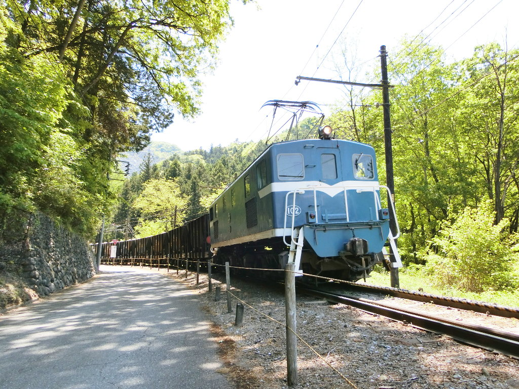 秩父鉄道の貨車「ヲキ」を楽しむ・その2影森駅から三輪駅へ2018春-9231