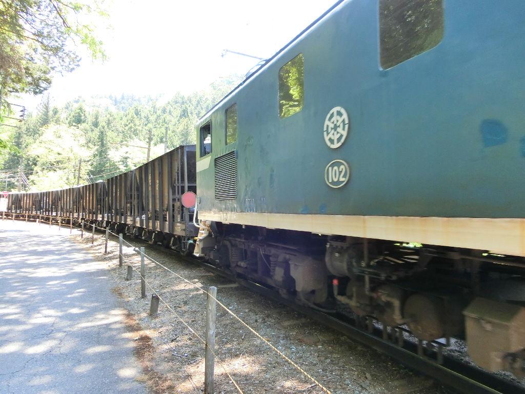秩父鉄道の貨車「ヲキ」を楽しむ・その2影森駅から三輪駅へ2018春-9232