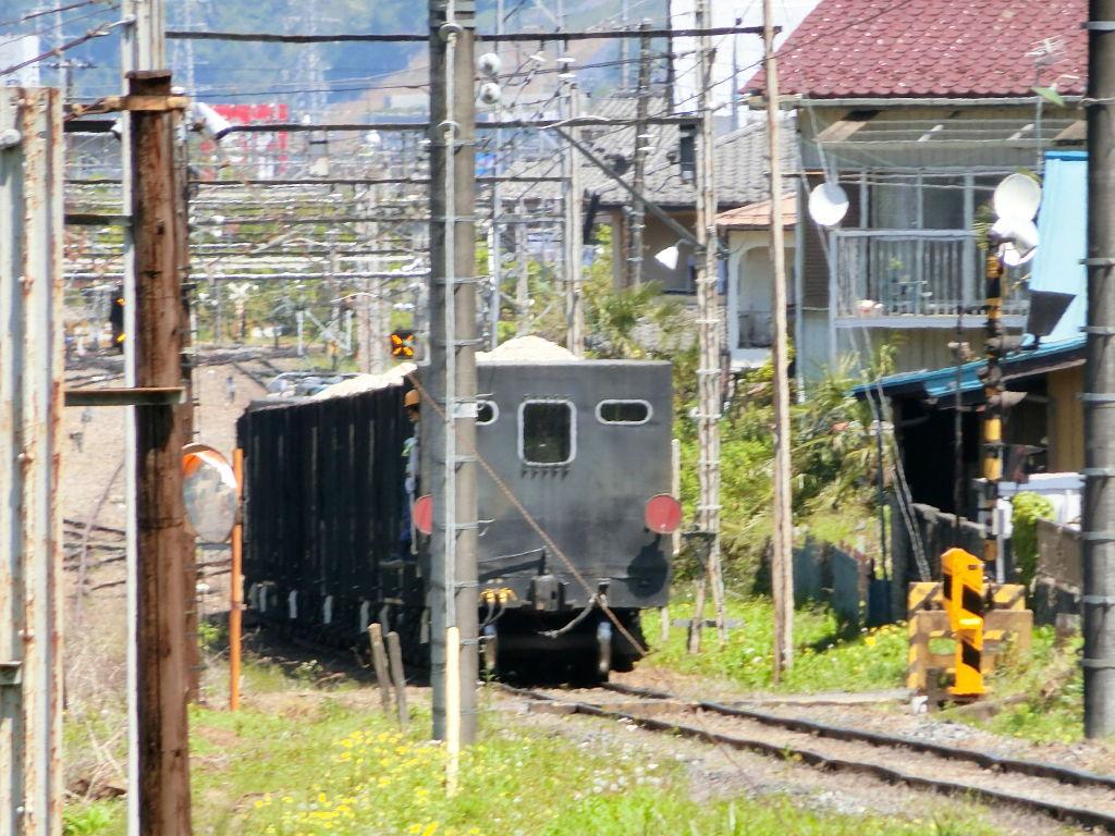 秩父鉄道の貨車「ヲキ」を楽しむ・その2影森駅から三輪駅へ2018春-9238