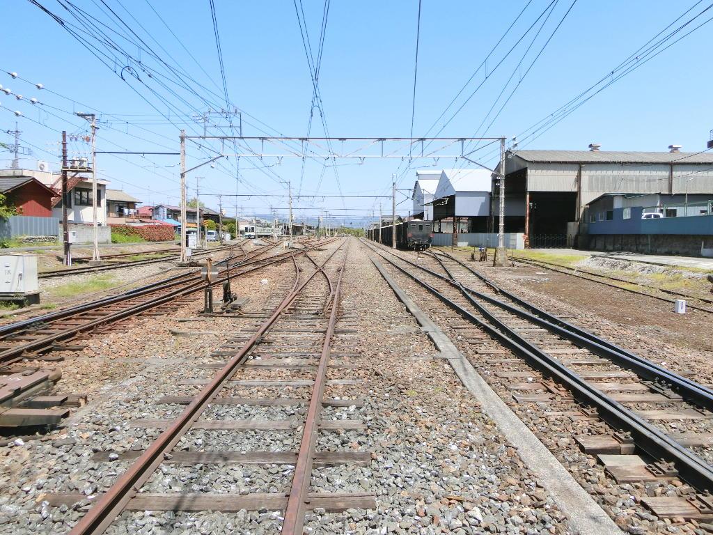 秩父鉄道の貨車「ヲキ」を楽しむ・その3影森駅2018春-9306