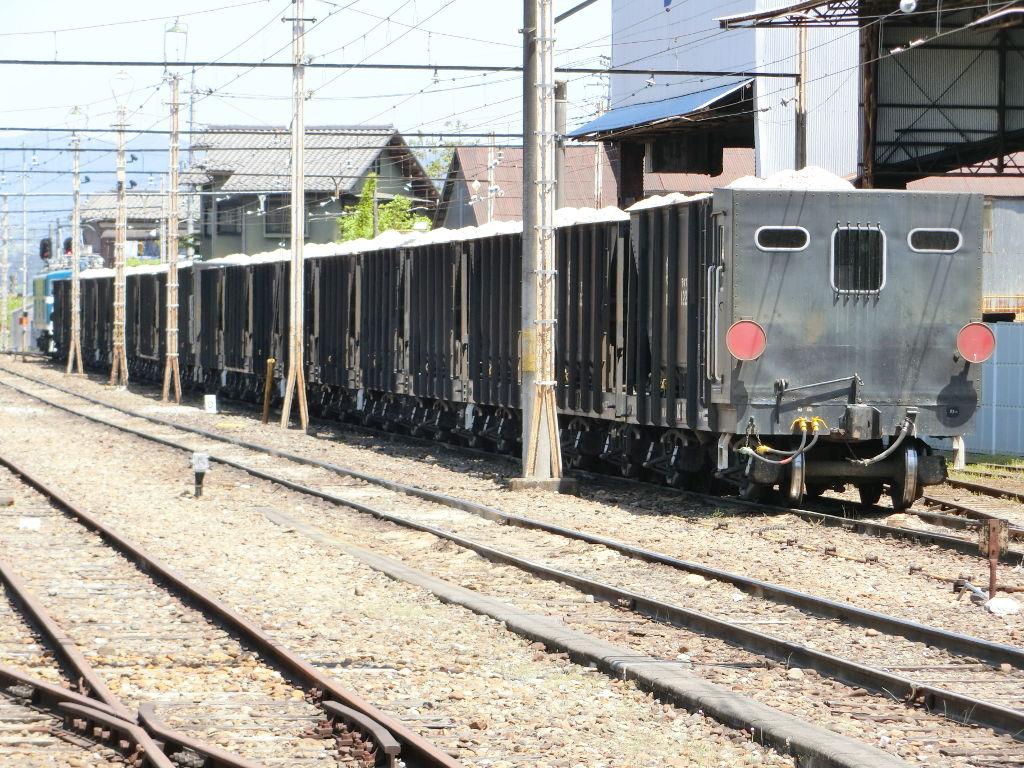 秩父鉄道の貨車「ヲキ」を楽しむ・その3影森駅2018春-9307