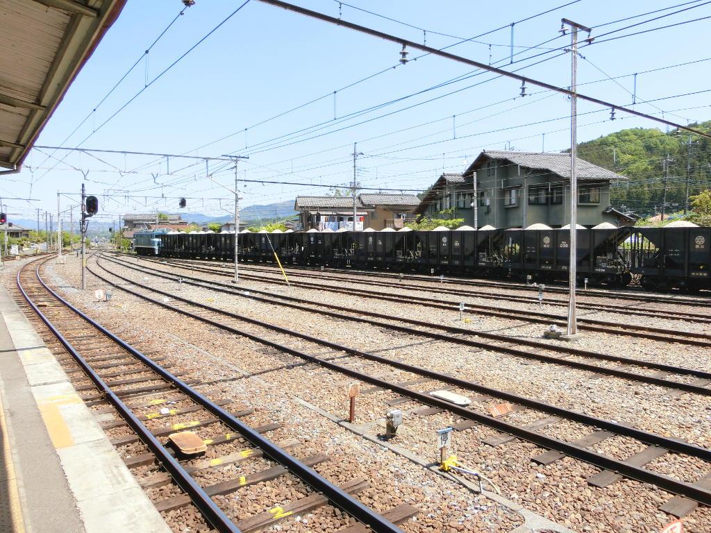 秩父鉄道の貨車「ヲキ」を楽しむ・その3影森駅2018春-9316