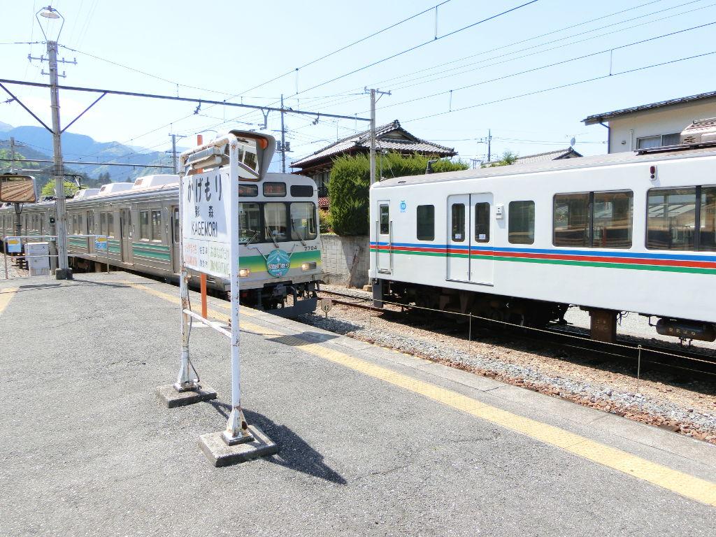 秩父鉄道の貨車「ヲキ」を楽しむ・その3影森駅2018春-9319