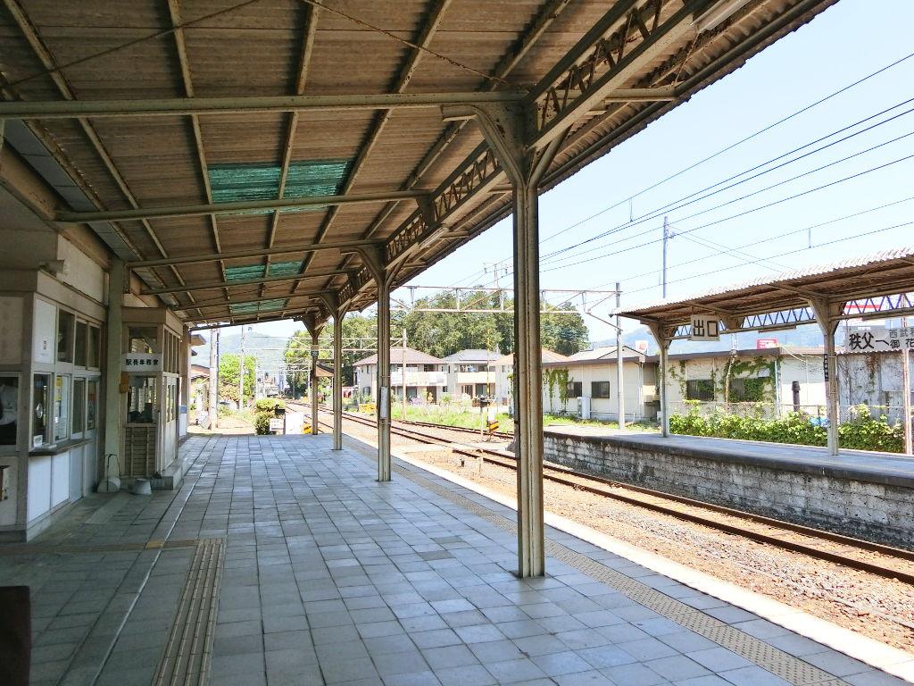 秩父鉄道の貨車「ヲキ」を楽しむ・その4大野原駅から武州原谷駅へ2018春-9411