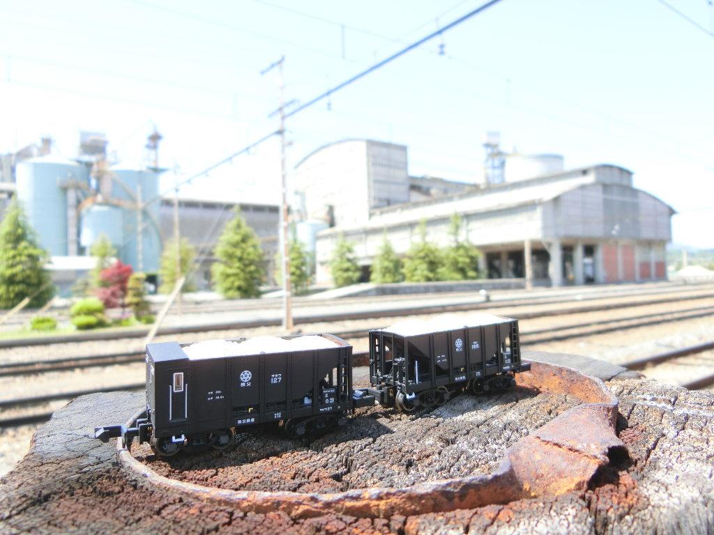 秩父鉄道の貨車「ヲキ」を楽しむ・その4大野原駅から武州原谷駅へ2018春-9434