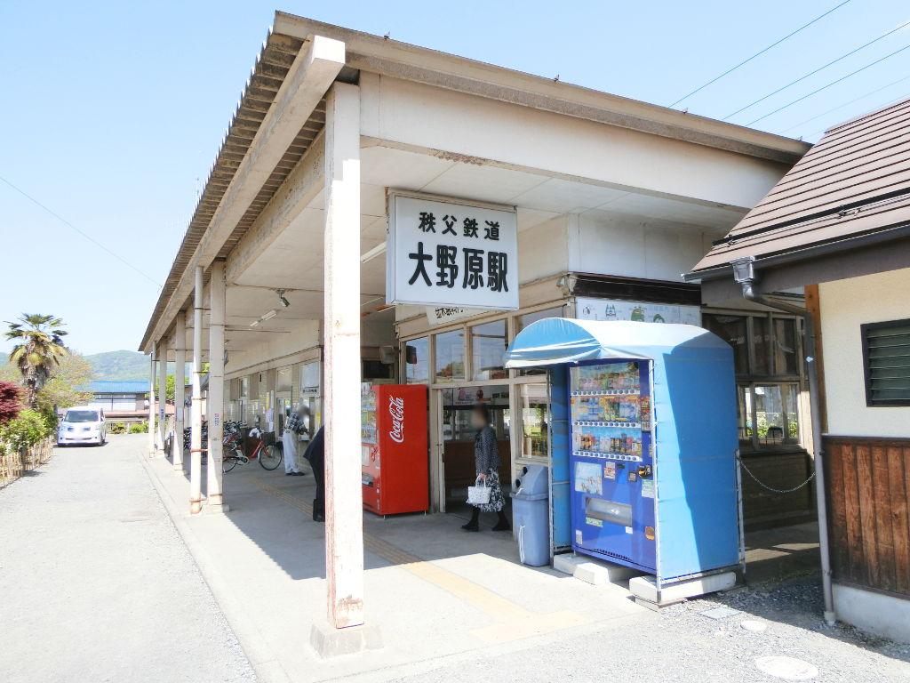 秩父鉄道の貨車「ヲキ」を楽しむ・その5上長瀞駅と荒川橋梁2018春-9508
