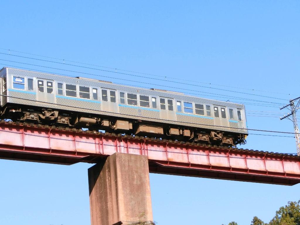 秩父鉄道の貨車「ヲキ」を楽しむ・その5上長瀞駅と荒川橋梁2018春-9543