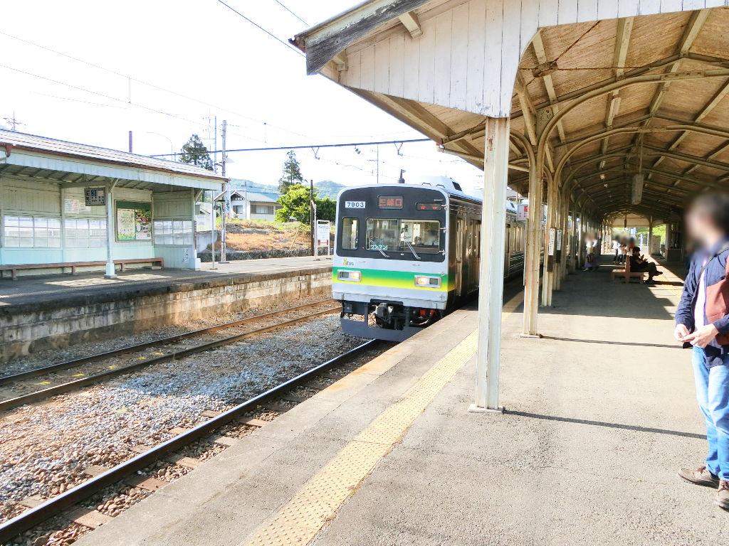 秩父鉄道の貨車「ヲキ」を楽しむ・その6秩父駅からジンギスカン2018春-9601