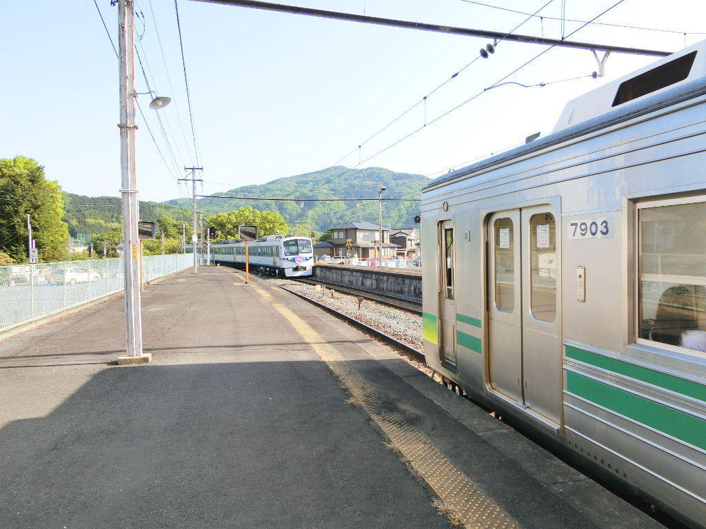 秩父鉄道の貨車「ヲキ」を楽しむ・その6秩父駅からジンギスカン2018春-9602