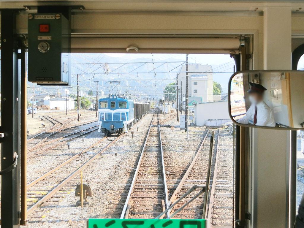 秩父鉄道の貨車「ヲキ」を楽しむ・その6秩父駅からジンギスカン2018春-9606