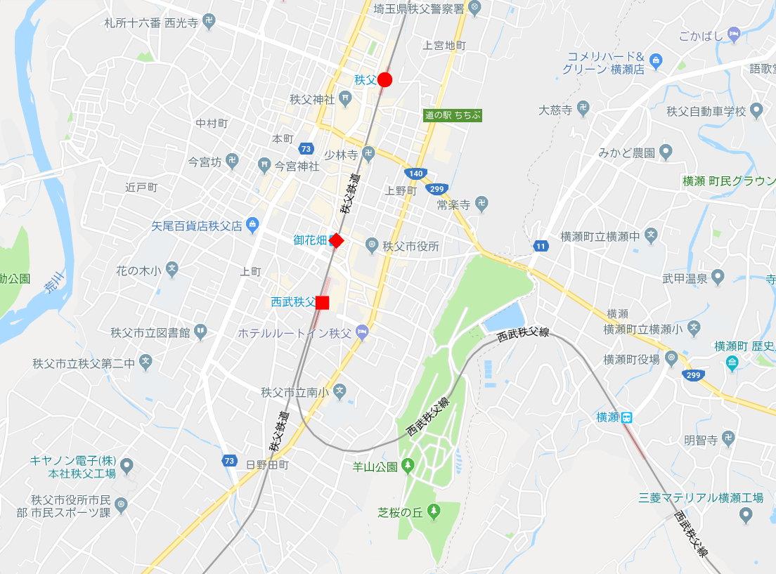 秩父鉄道の貨車「ヲキ」を楽しむ・その6秩父駅からジンギスカン2018春-9609