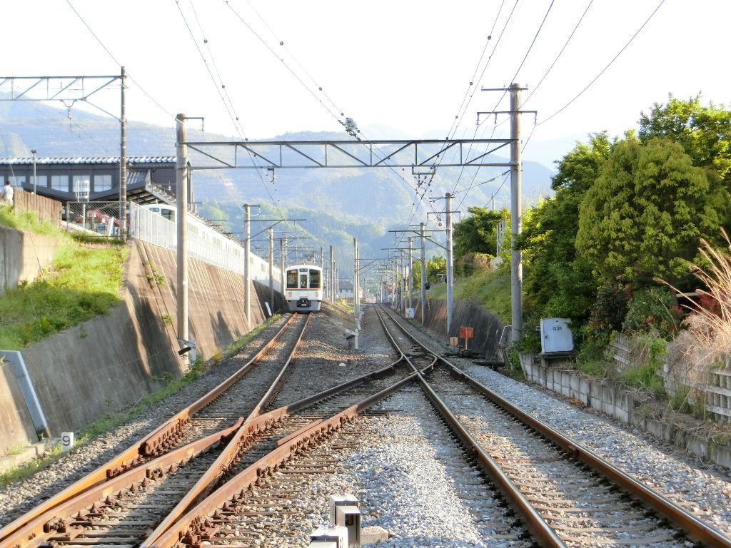 秩父鉄道の貨車「ヲキ」を楽しむ・その6秩父駅からジンギスカン2018春-9617