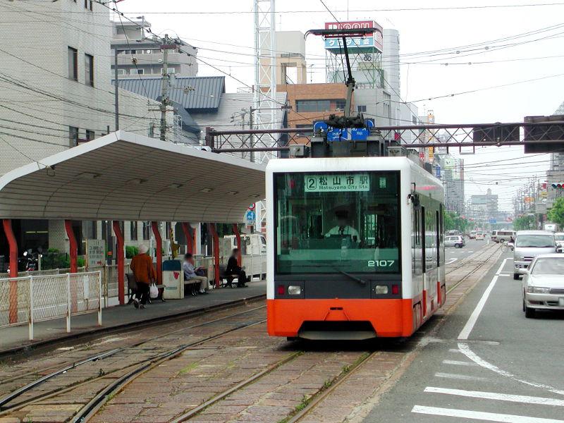 愛媛・伊予鉄道2006-4203